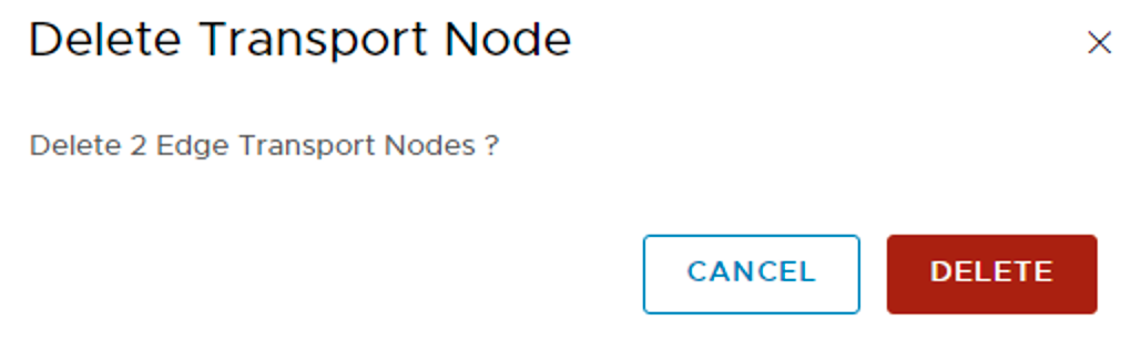 delete edge node
