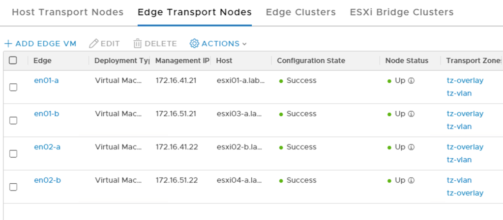 edge transport nodes